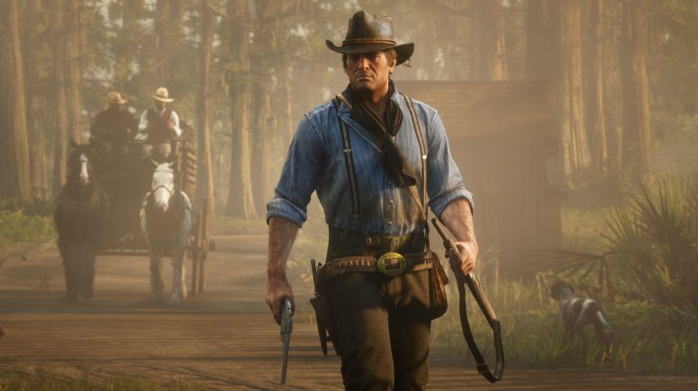 Red Dead Redemption 2 Dragon Gaming game of the year 2018